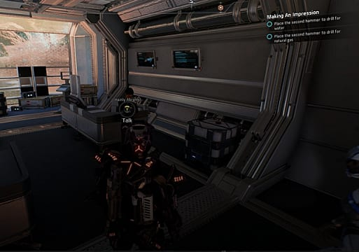 mass effect andromeda making an impression
