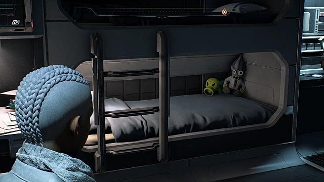 Mass Effect Andromeda, bed, teddy bear