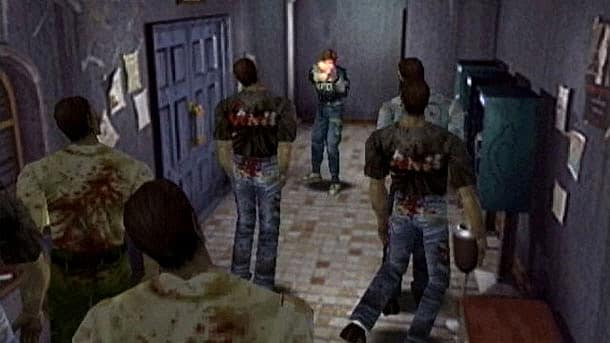 Resident Evil 2, zombies
