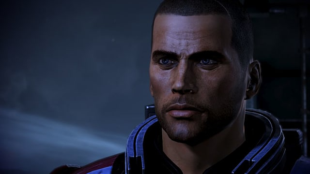 Mass Effect, Shepard, Commander