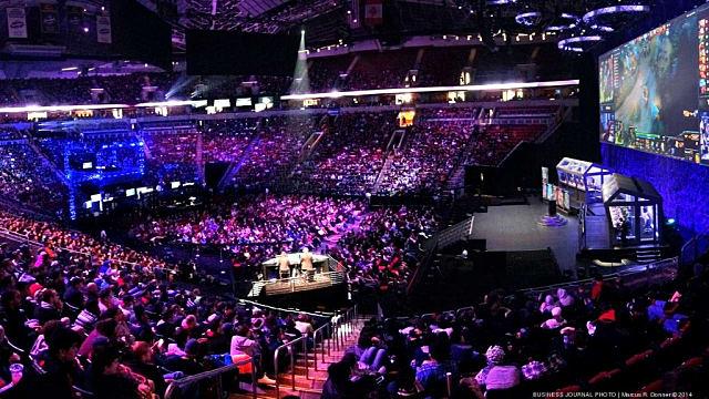 esports, arena, stage