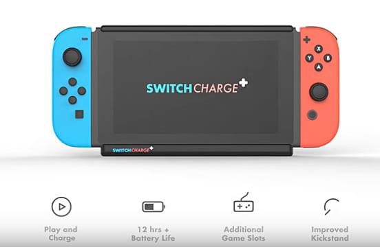 SwitchCharge, SwitchCharge+, Nintendo Switch, Switch, Nintendo