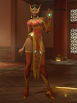 symmetra year of the rooster skin