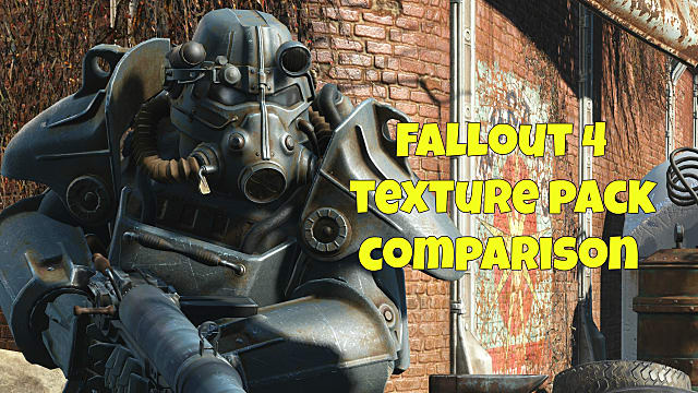 how to install fallout 4 high resolution texture pack