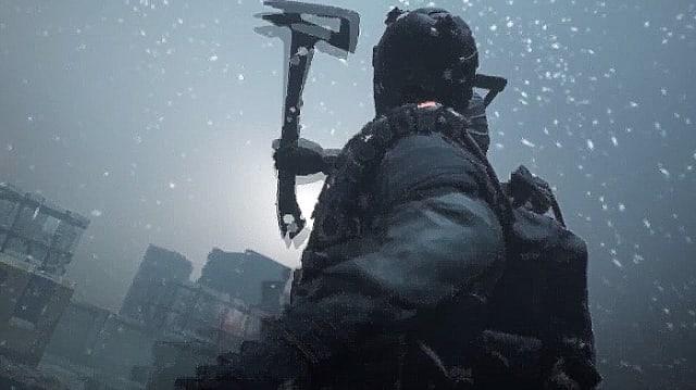 The Division, axe, snow