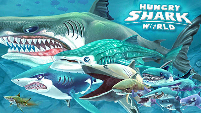 Hungry shark evolution vs hungry shark world for Fish evolution game