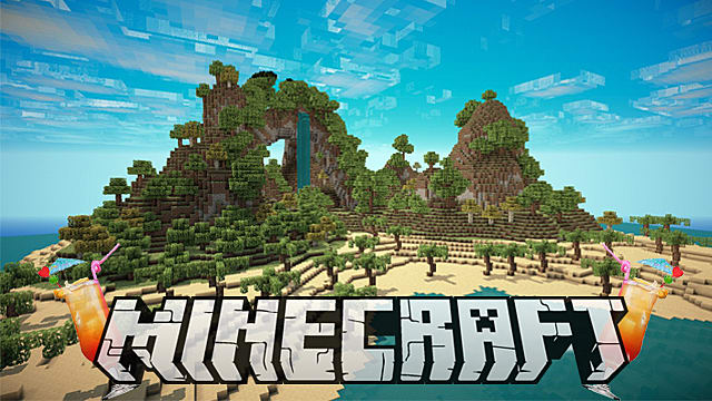 Minecraft Survival Built In Island Xbox Map