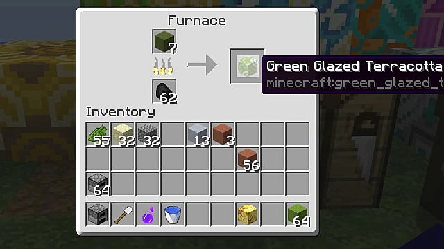 minecraft glazed terracotta
