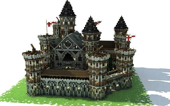 Medieval minecraft guide the best mods resource packs for Build your own castle home