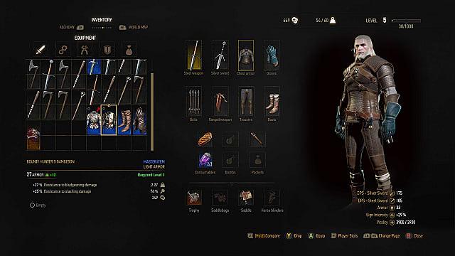 Pc Best Witcher  Build