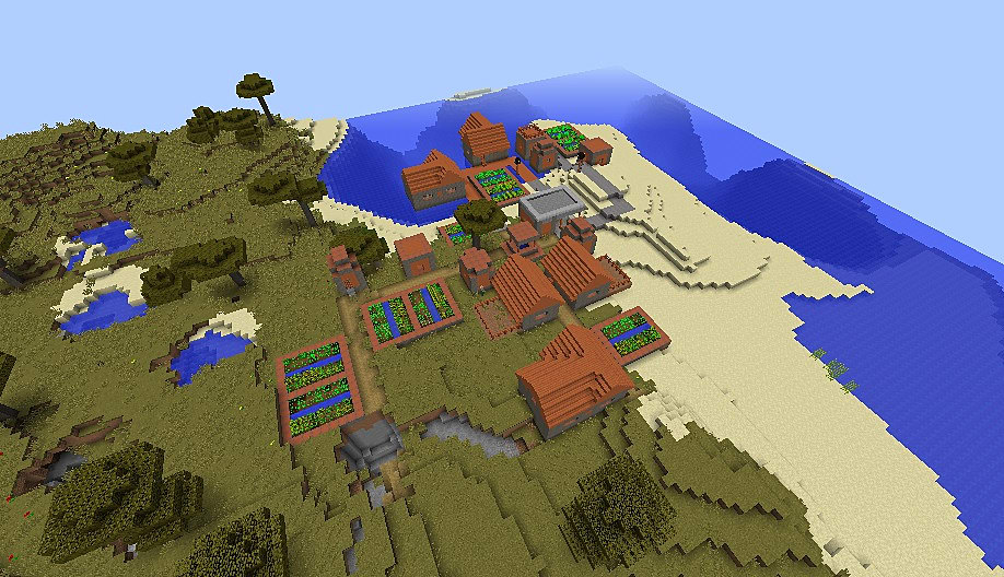 Top 20 minecraft seeds for minecraft 1 11 2 january 2017 slide 7