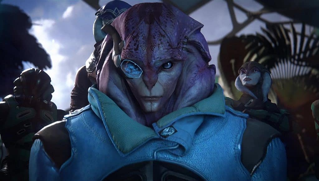 everything we know about alien races in mass effect andromeda