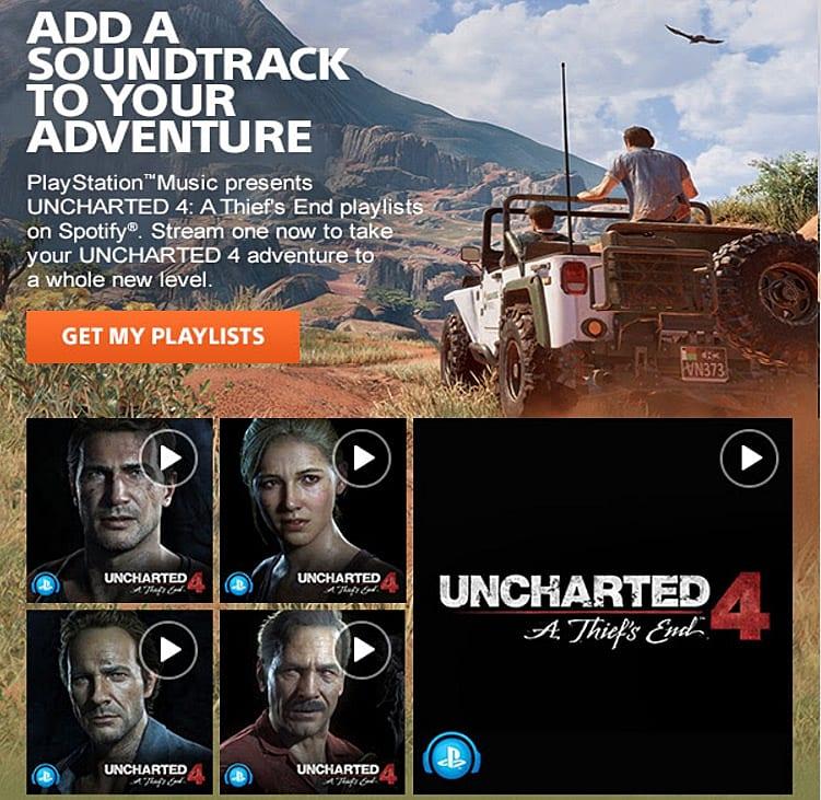 uncharted 4, soundtrack