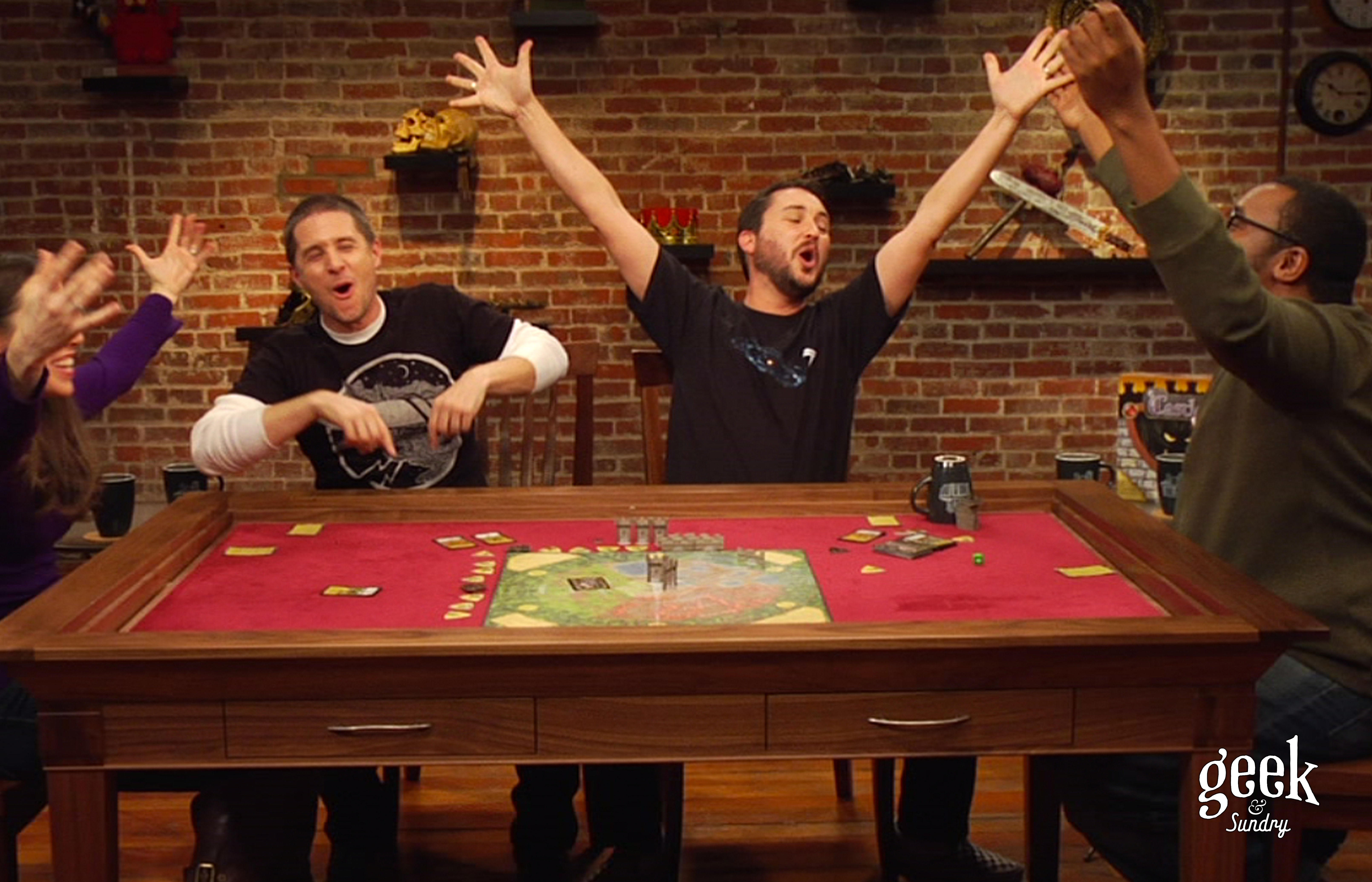 10 coolest gaming tables for the rich tabletop gamer for 10 in one games table