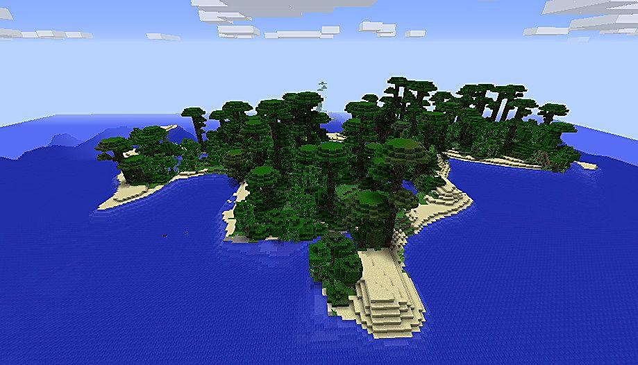 Seed Minecraft   Island