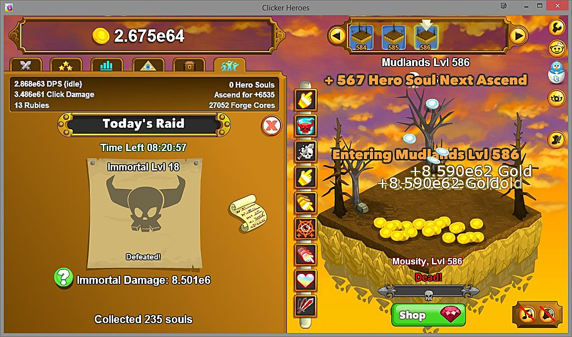 Why clicker heroes dominates the other clickers and will continue to