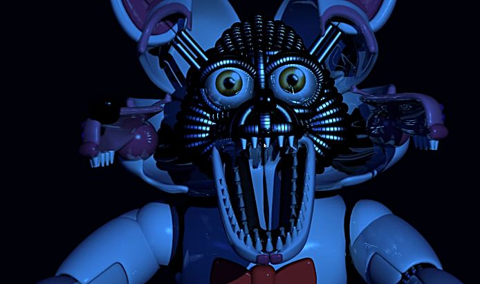 Just repetitive jump scares five nights at freddy s sister location