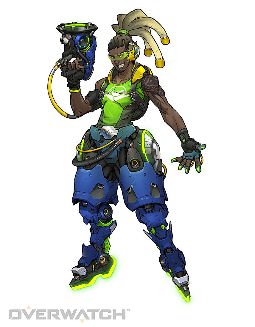 Four Overwatch Characters And Their Possible Influences