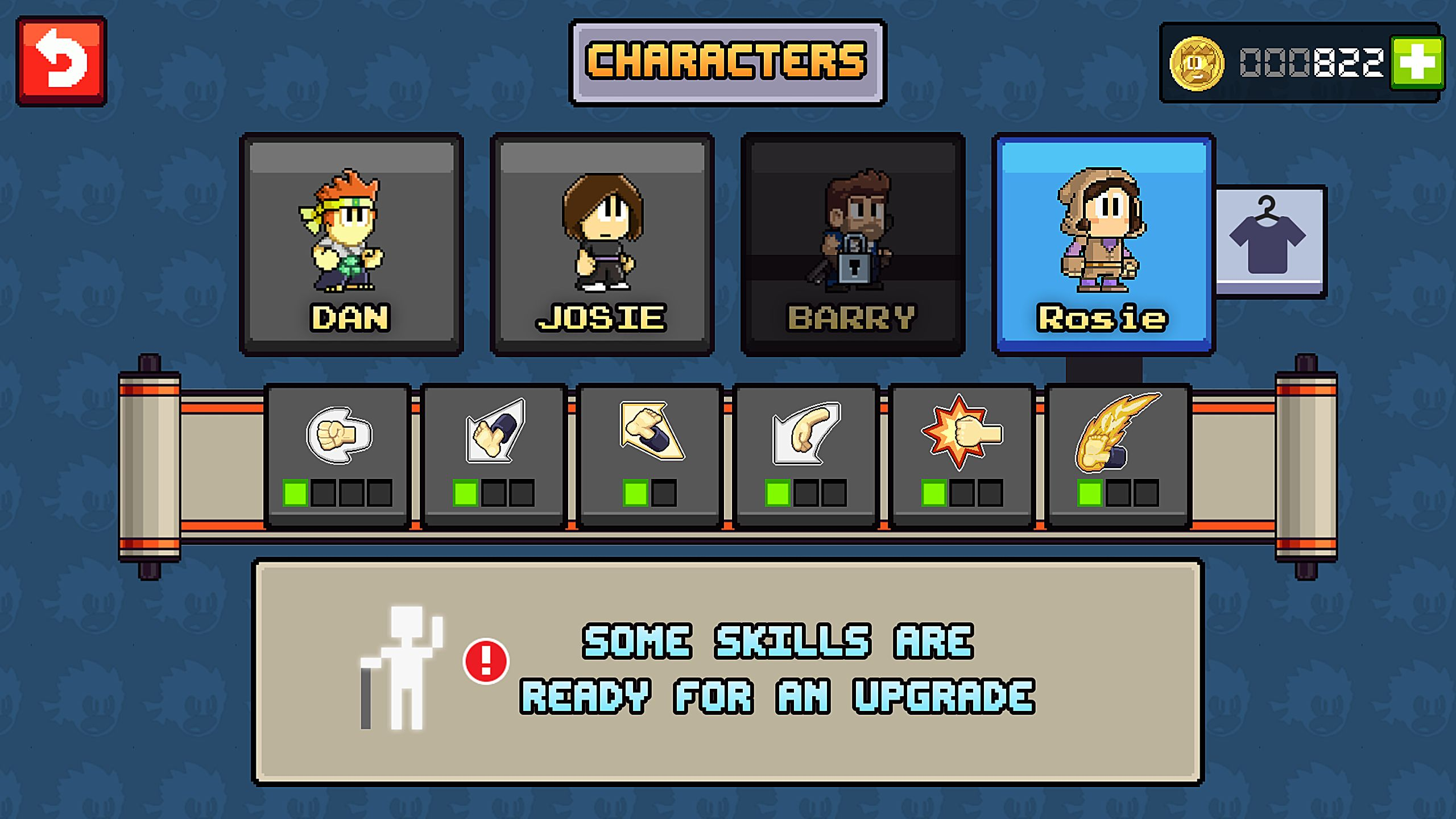 Design Your Character And Play : How to create your own custom character in dan the man