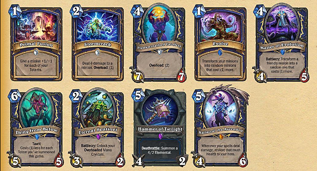 shaman cards