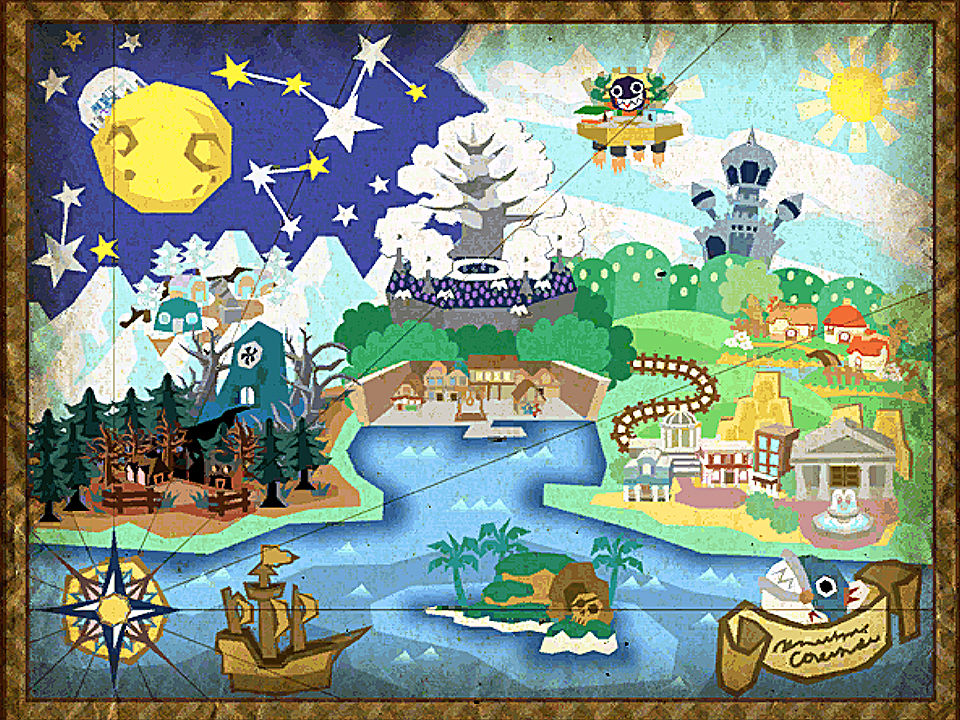 What made paper mario 64 and paper mario the thousand for 1000 year door