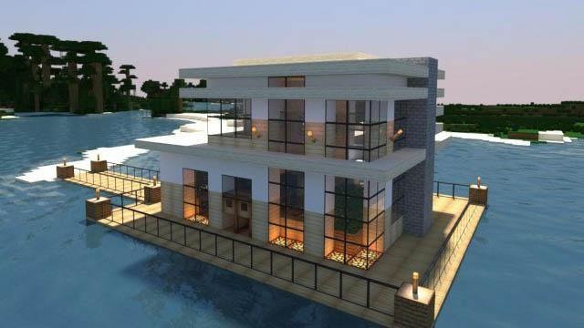 Realistic Modern Minecraft Houses Minecraft