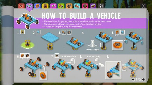 Scrap Mechanic guidebook