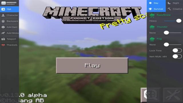 Minecraft PE XMod menu