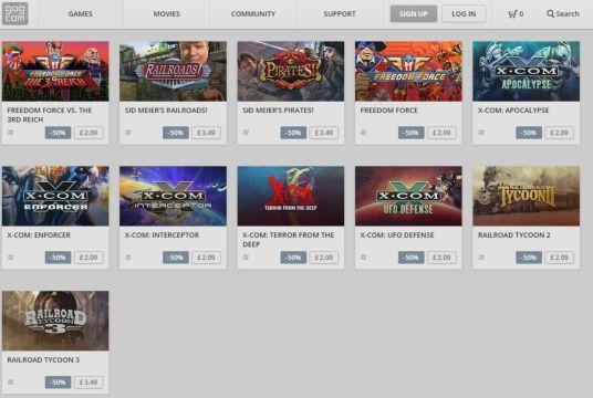 gog promo sale 2k games