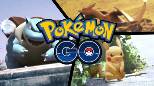 Pokemon Go Blastoise, Charizard, Pikachu