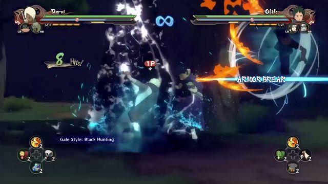 Naruto Shippuden Ultimate Ninja Storm 4 Leader Switch