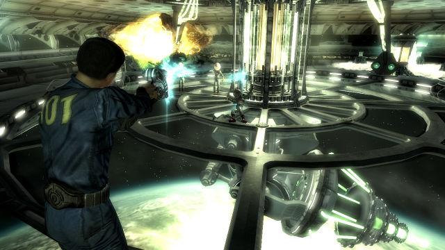 Mothership Zeta Fallout 3 DLC Gameplay
