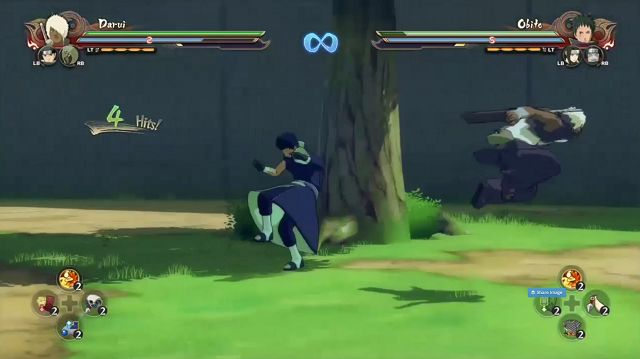 Naruto Shippuden Ultimate Ninja Storm 4 Ninja Move