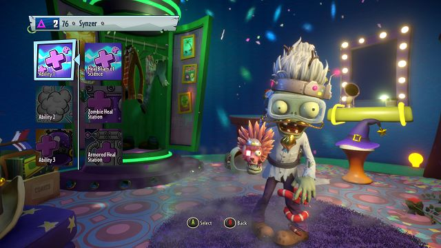 plants vs zombies garden warfare 2 scientist abilities