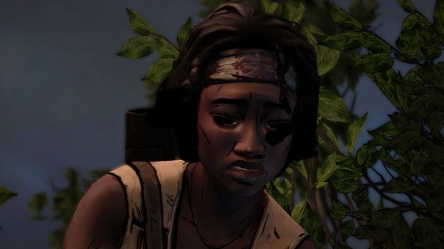 The Walking Dead Michonne Post Combat
