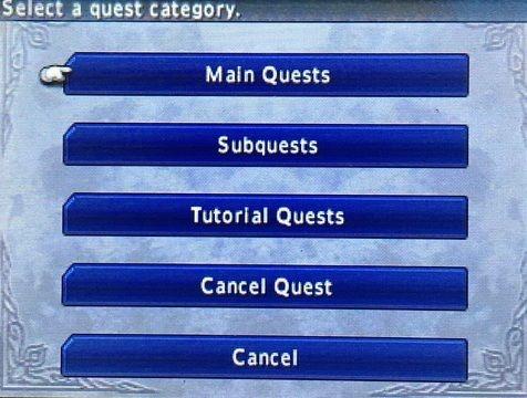 Final Fantasy Explorers quests