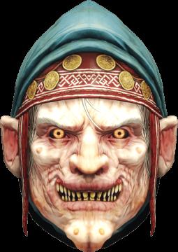 Baba Yaga Mask