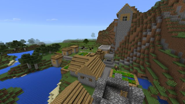 mountain village seed minecraft vvvvvvvv
