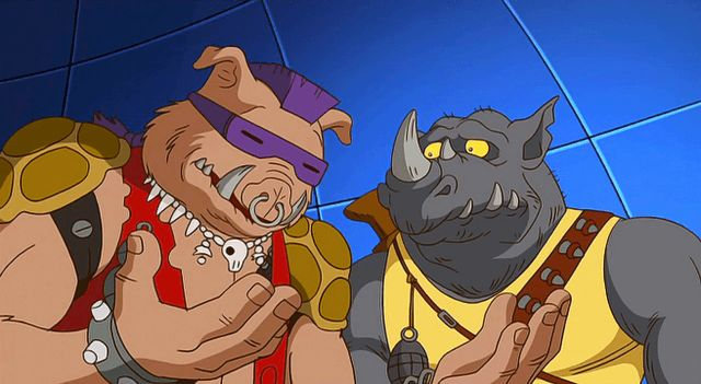 Bebop and Rocksteady TMNT Mutants in Manhattan