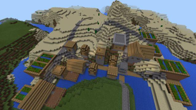1417801910 spawn near quad village blacksmith emerald