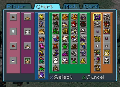 This is the Digivolution chart. You can only have 1 Digimon at a time, so you can imagine how long it would take to unlock every one of these