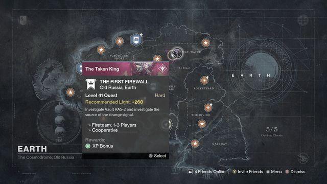 Destiny the Taken King First Firewall