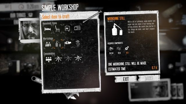 This War of Mine: The Little Ones inventory
