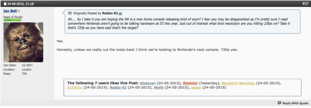 Project CARS not on Wii u on next nintendo console