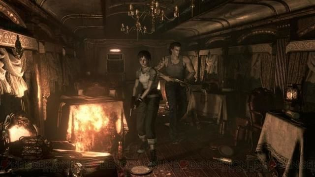 a possible view of gameplay of biohazard 0