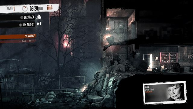 This War of Mine: The Little Ones shelter