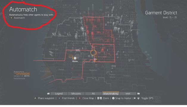 the division survival guide locations