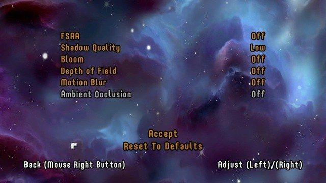 lego worlds turn off shadow quality option