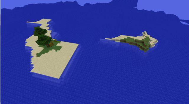 Minecraft seed -4843434297086207654