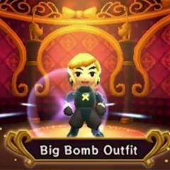 Link's fancy new duds